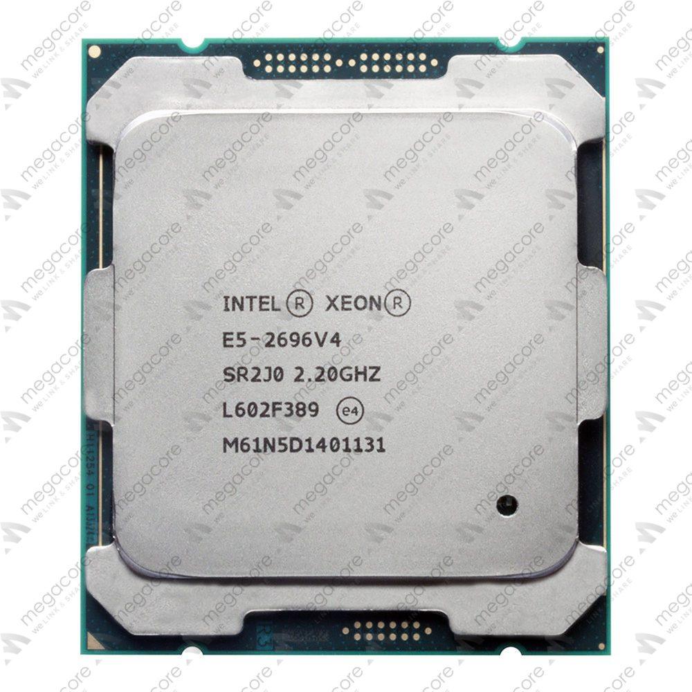 CPU Intel Xeon E5-2696v4 ( 2.20 GHz/ 55MB/ 22 Cores/ 44 Threads/ Socket 2011-3)