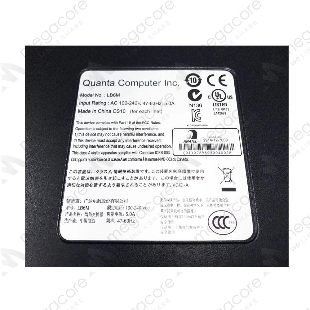QUANTA LB6M 10GBE 24-PORT SFP+ 4X 1GBE L2/L3 SWITCH