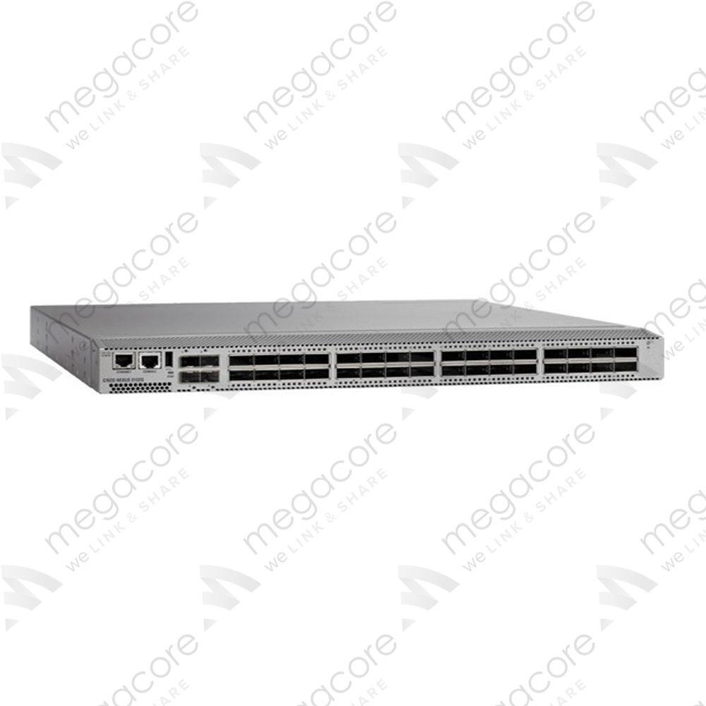 Cisco N3K-C3132Q-40GE Nexus 3132Q, 32x QSFP+ 40G+ 4x SFP 1RU switch
