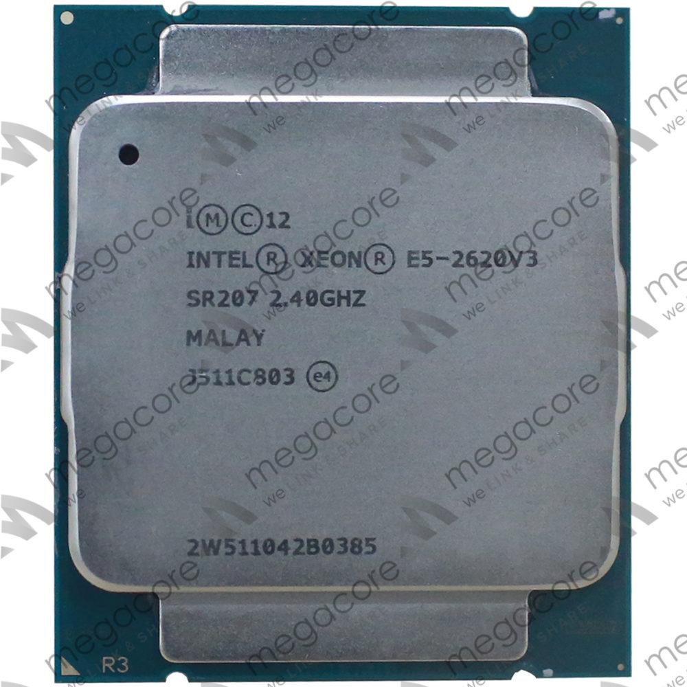 CPU Intel Xeon Processor E5-2620 V3 (2.40 turbo 3.20GHz / 6Cores / 12 Thread)