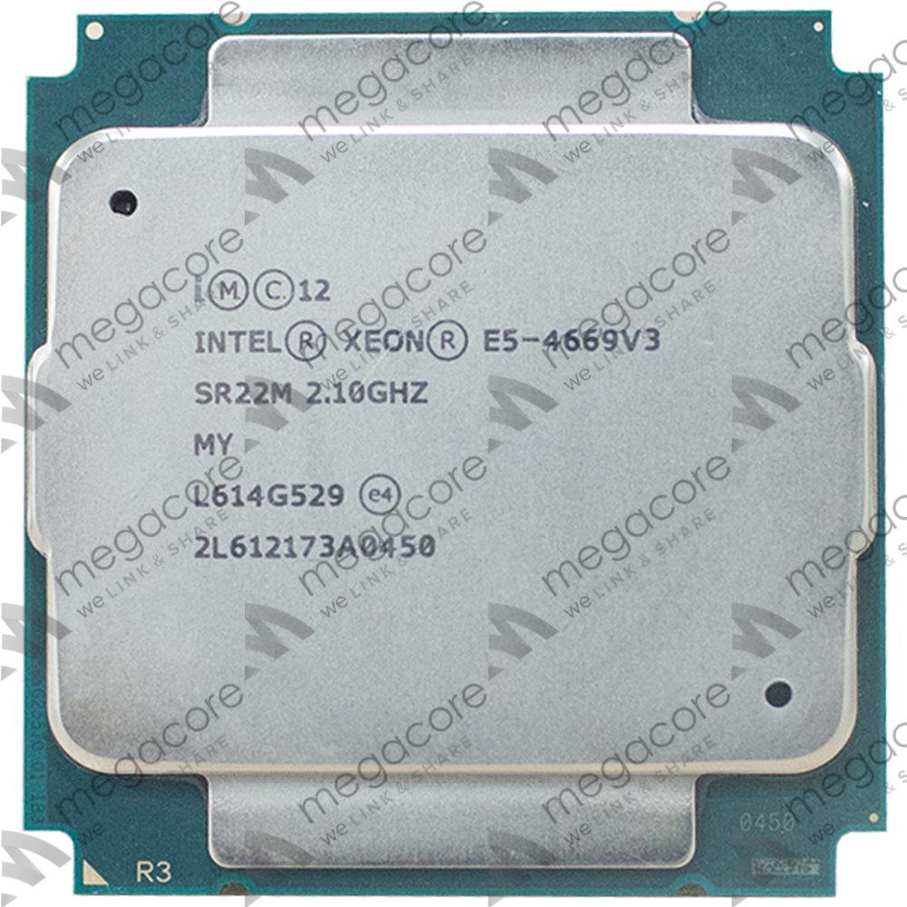 CPU Intel Xeon Processor E5-4669 v3 (2.10 turbo 2.90GHz / 18Cores / 36 Thread)