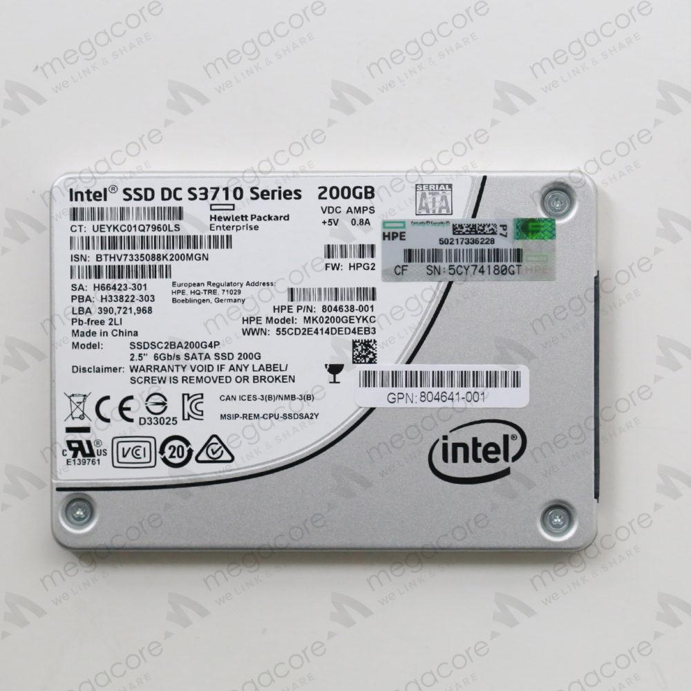 SSD Intel S3710 – 200GB