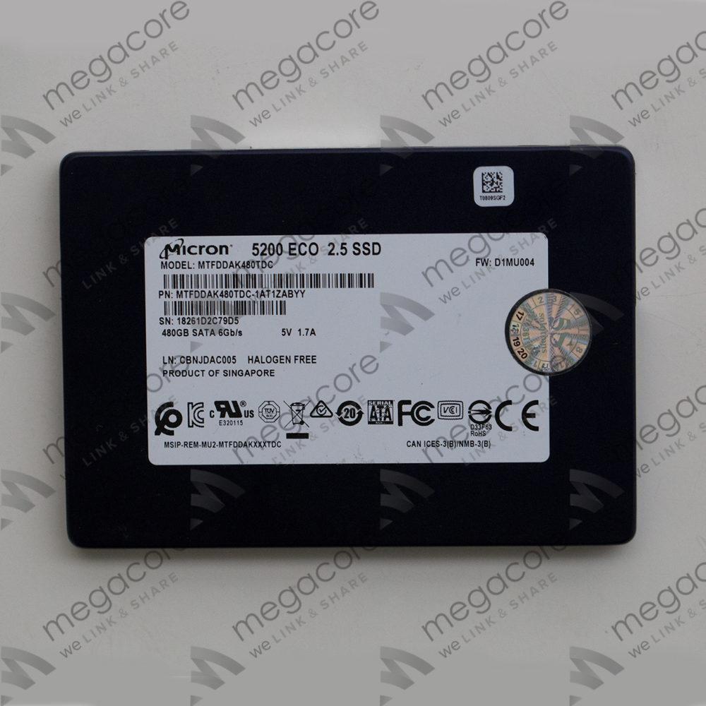 SSD Micron 5200ECO – 480GB