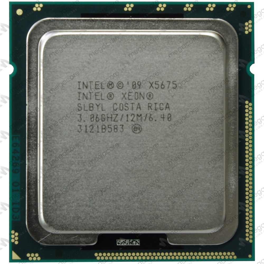 Cpu Intel Xeon Processor X5675 (12M Cache, 3.06 GHz, 6.40 GT/s Intel® QPI)