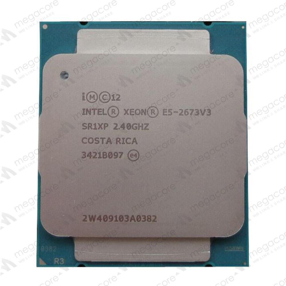 CPU Intel Xeon Processor E5-2673 V3 (2.40 GHz/ 12Cores / 24 Thread)