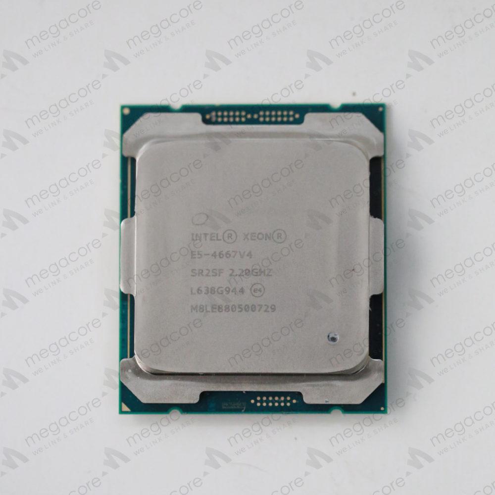 Intel Xeon E5-4667v4 ( 2.20 GHz/ 18 Cores/ 38 Threads)