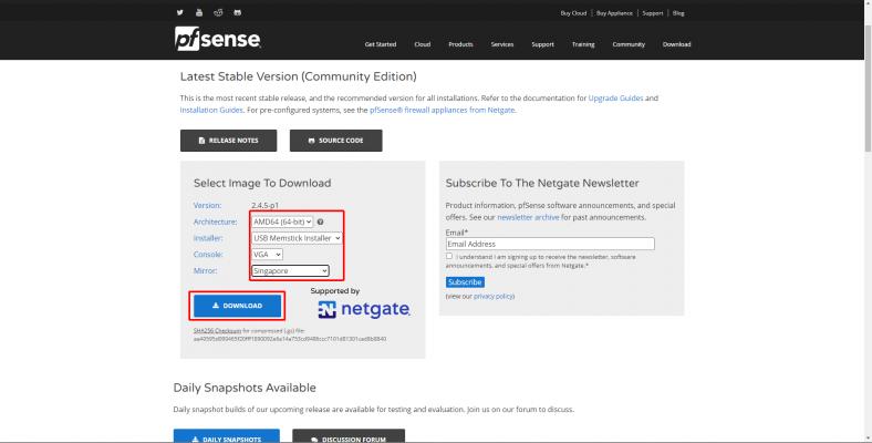 download pfsense 788x400 - Install pfSense (Tìm hiểu về pfSense phần 3)