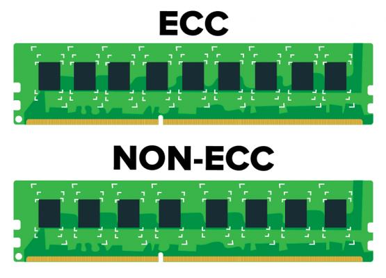 1205 ecc vs nonecc 555x400 - Part 2: Sự khác nhau giữa ram cho máy chủ và ram cho máy tính cá nhân ( Sự khác nhau giữa server và pc )