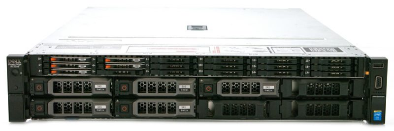 StorageReview Dell PowerEdge R730XD 800x267 - Review máy chủ Dell PowerEdge R730xd