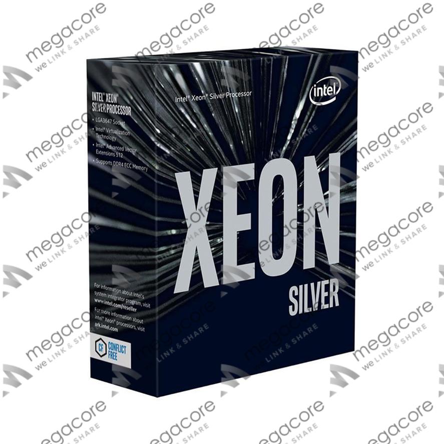 CPU Intel Xeon Silver 4110 (2.1GHz turbo up to 3.0GHz, 8 nhân, 16 luồng, 11MB Cache)