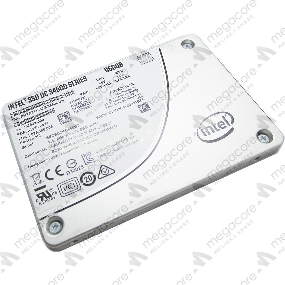 Intel SSD DC S4500 Series 960GB