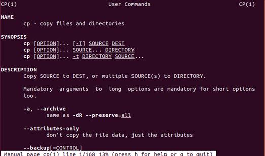 1 số câu lệnh cơ bản trong Linux (Ubuntu)