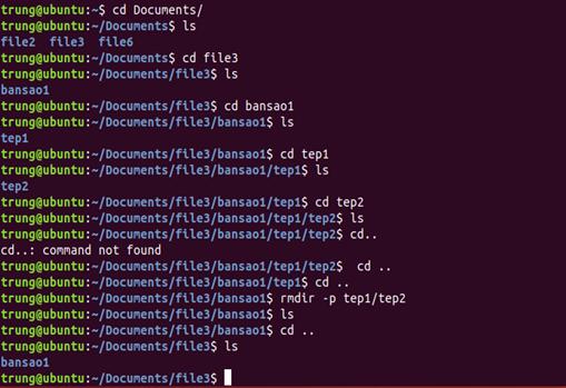 lenh 10 - 1 số câu lệnh cơ bản trong Linux (Ubuntu)
