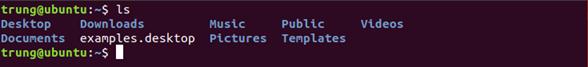 lenh 3 - 1 số câu lệnh cơ bản trong Linux (Ubuntu)