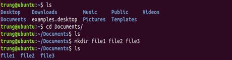 lenh 5 - 1 số câu lệnh cơ bản trong Linux (Ubuntu)