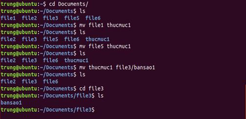 lenh 9 - 1 số câu lệnh cơ bản trong Linux (Ubuntu)