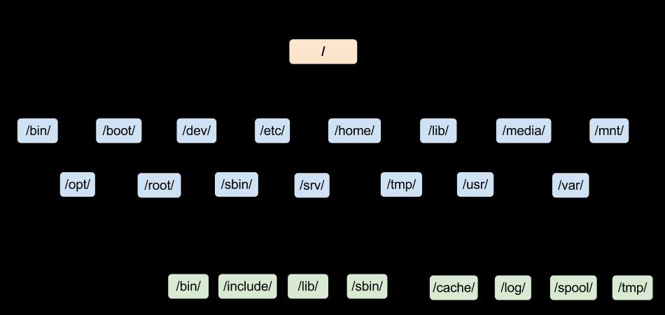 linux filesystem - Linux là gì? Sự khác biệt giữa 2 hệ đều hành Linux và Windows? Cấu trúc của hệ điều hành Linux
