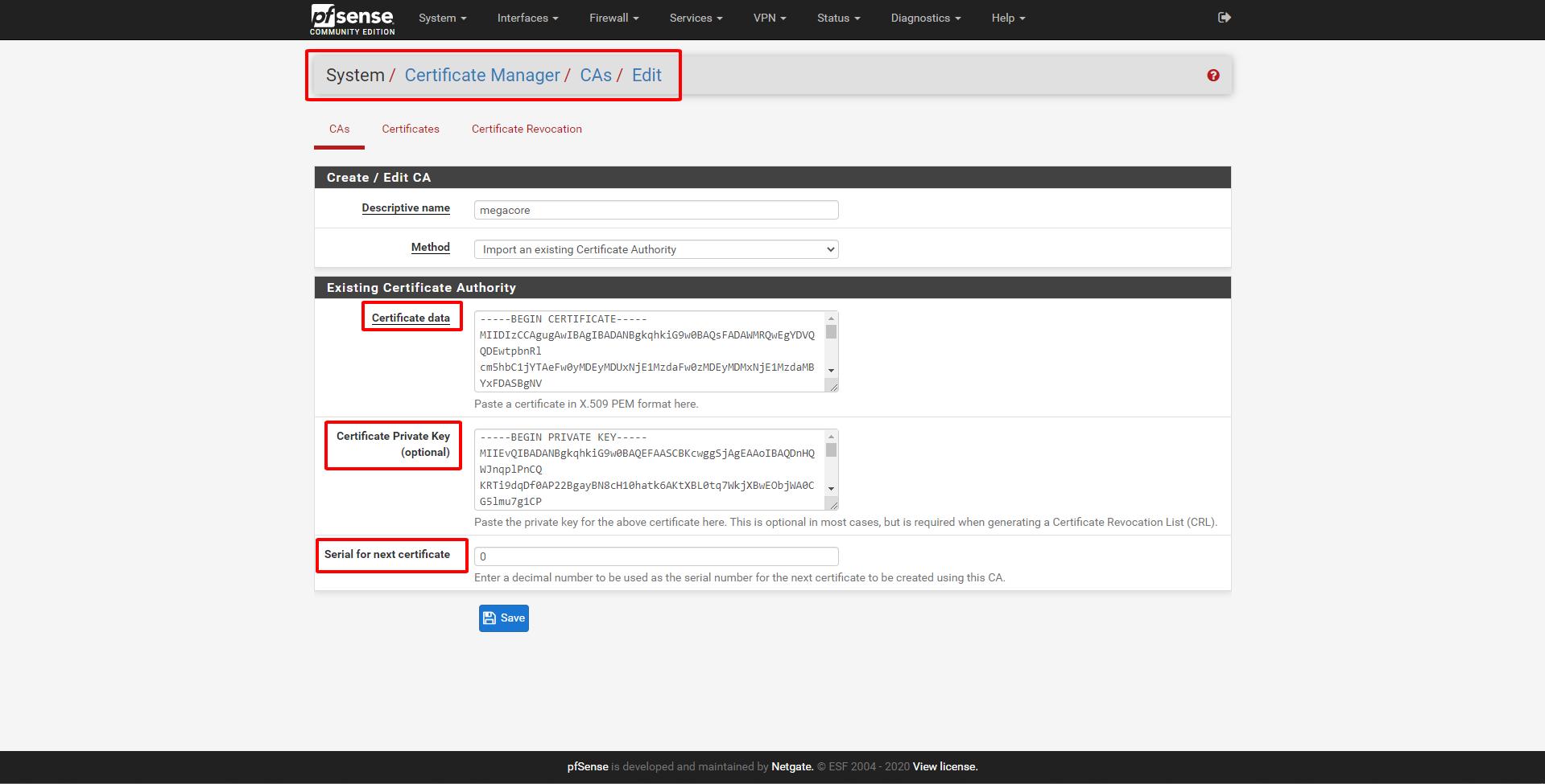 pfsense 11 - Certificate Management (Tìm Hiểu Về PfSense Phần 8)
