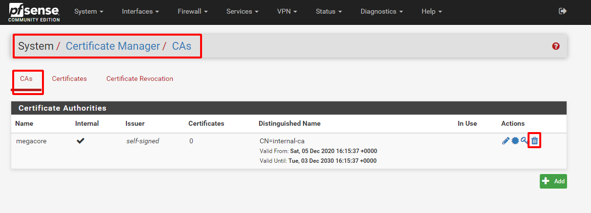 pfsense 13 - Certificate Management (Tìm Hiểu Về PfSense Phần 8)