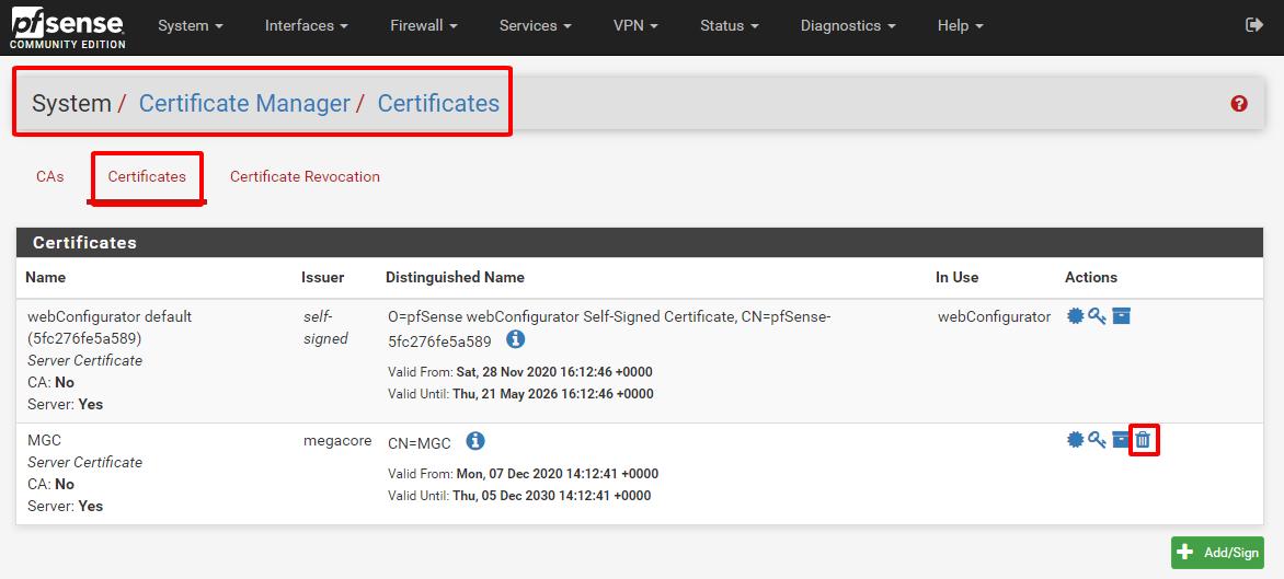 pfsense 19 - Certificate Management- Tiếp (Tìm Hiểu Về PfSense Phần 9)