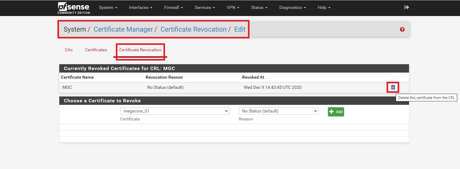 pfsense 27 - Certificate Management- Tiếp (Tìm Hiểu Về PfSense Phần 10)