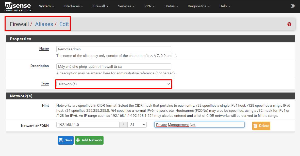 pfsense 69 - Firewall trong pfSense- 4 (Tìm Hiểu Về PfSense Phần 15)