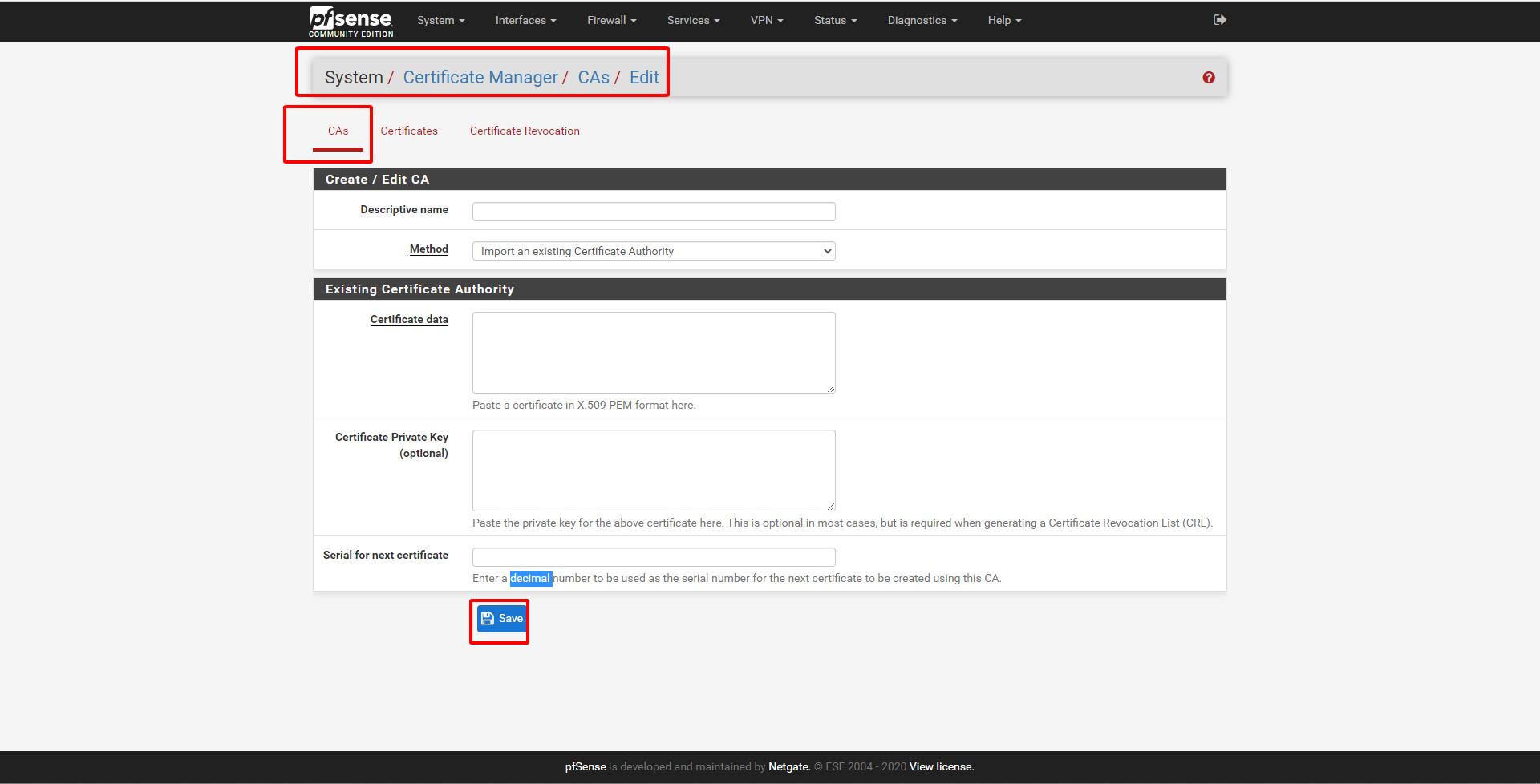 pfsense 8 - Certificate Management (Tìm Hiểu Về PfSense Phần 8)