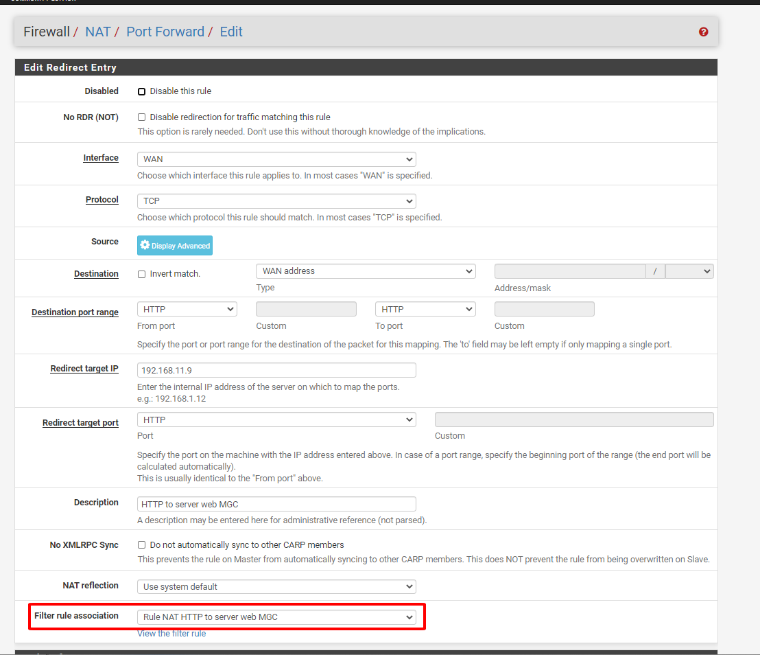 pfsense 95 - Network Address Translation (Tìm Hiểu Về PfSense Phần 20)