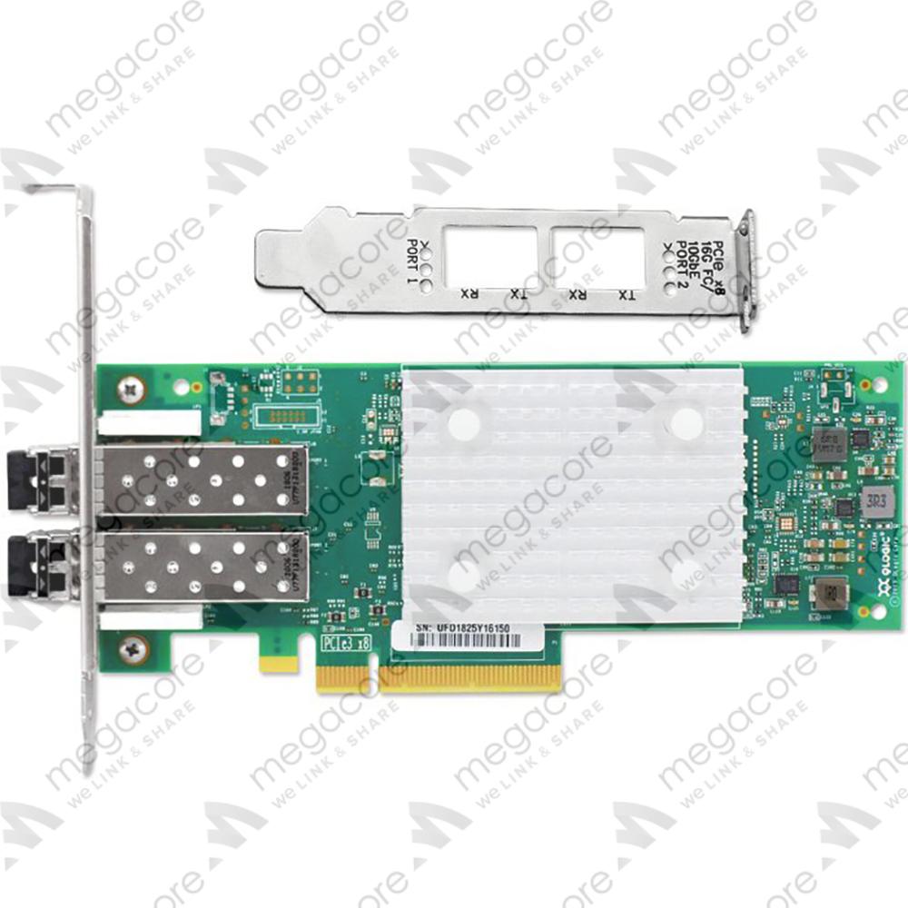 Qlogic QLE2672 Dual Port 16G Fibre Channel HBA