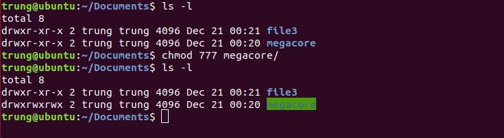 quyen truy xuat 1 - Quyền truy cập, truy xuất thư mục/tập tin trong hệ thống Linux