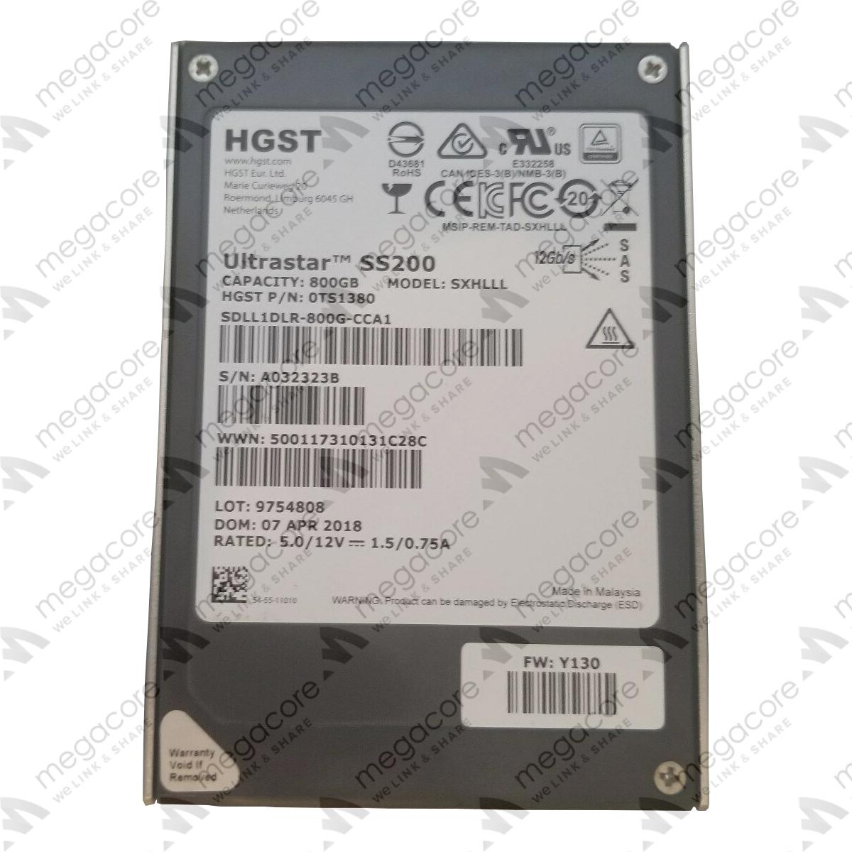 ssd-enterprise, sata-25, o-cung, linh-kien- SSD HGST Ultrastar SS200 800GB
