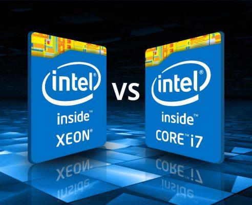 0612 xeon vs i7 492x400 - Điểm khác biệt giữa CPU Xeon và CPU Core I là gì?
