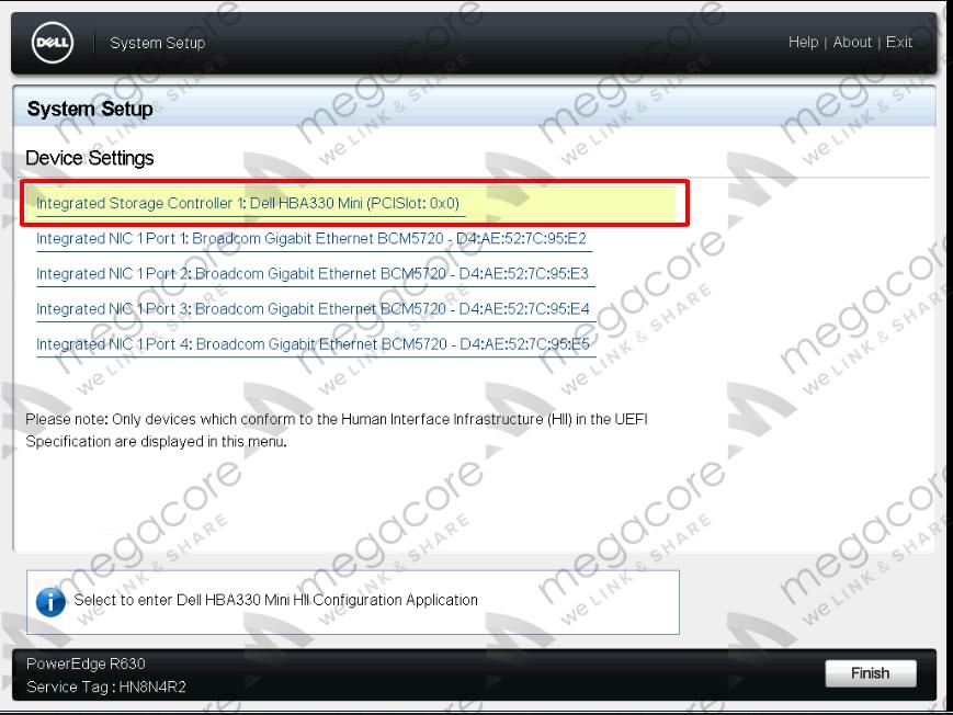 13 - Flash/Crossflash Card Raid DELL H330 Sang HBA330/12Gbps HBA IT Firmware