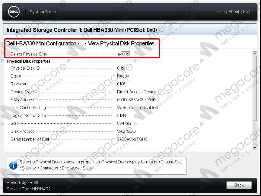 15 - Flash/Crossflash Card Raid DELL H330 Sang HBA330/12Gbps HBA IT Firmware