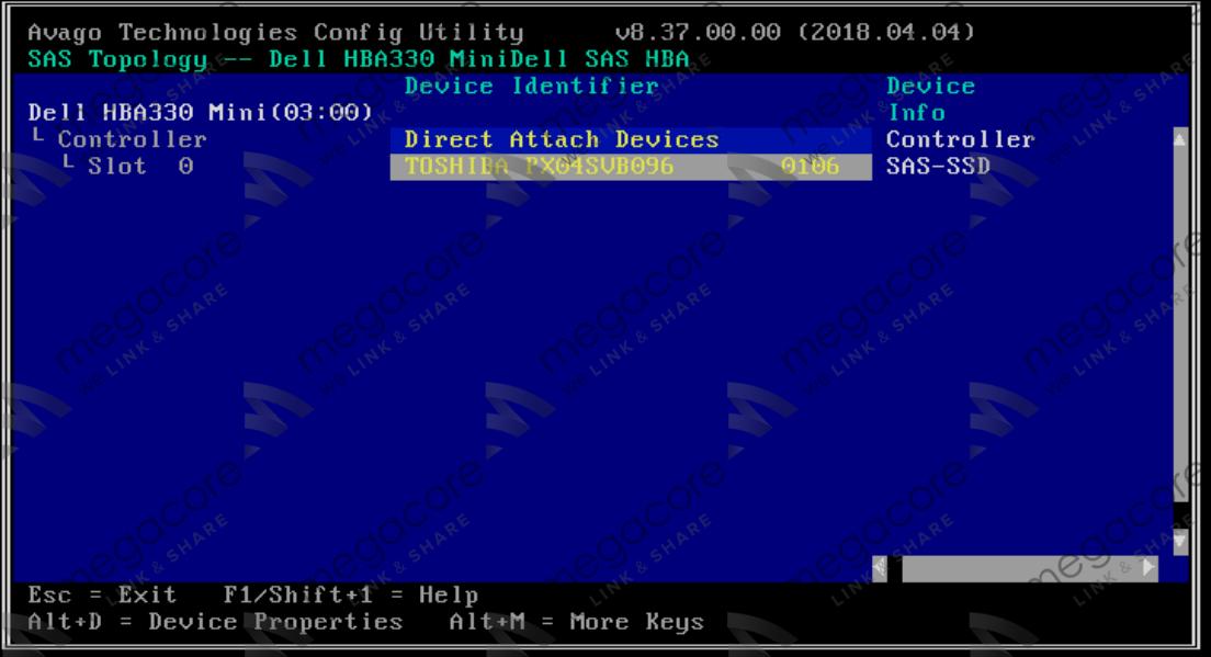 17 - Flash/Crossflash Card Raid DELL H330 Sang HBA330/12Gbps HBA IT Firmware