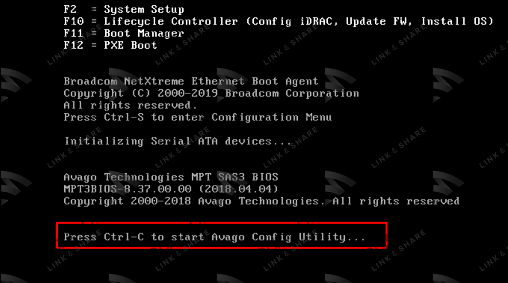 18 - Flash/Crossflash Card Raid DELL H330 Sang HBA330/12Gbps HBA IT Firmware
