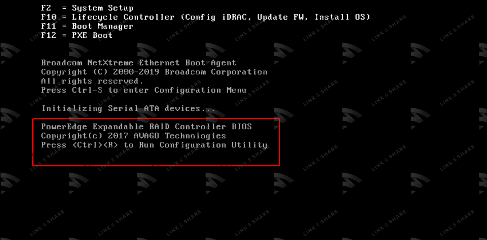 3 1 - Flash/Crossflash Card Raid DELL H330 Sang HBA330/12Gbps HBA IT Firmware