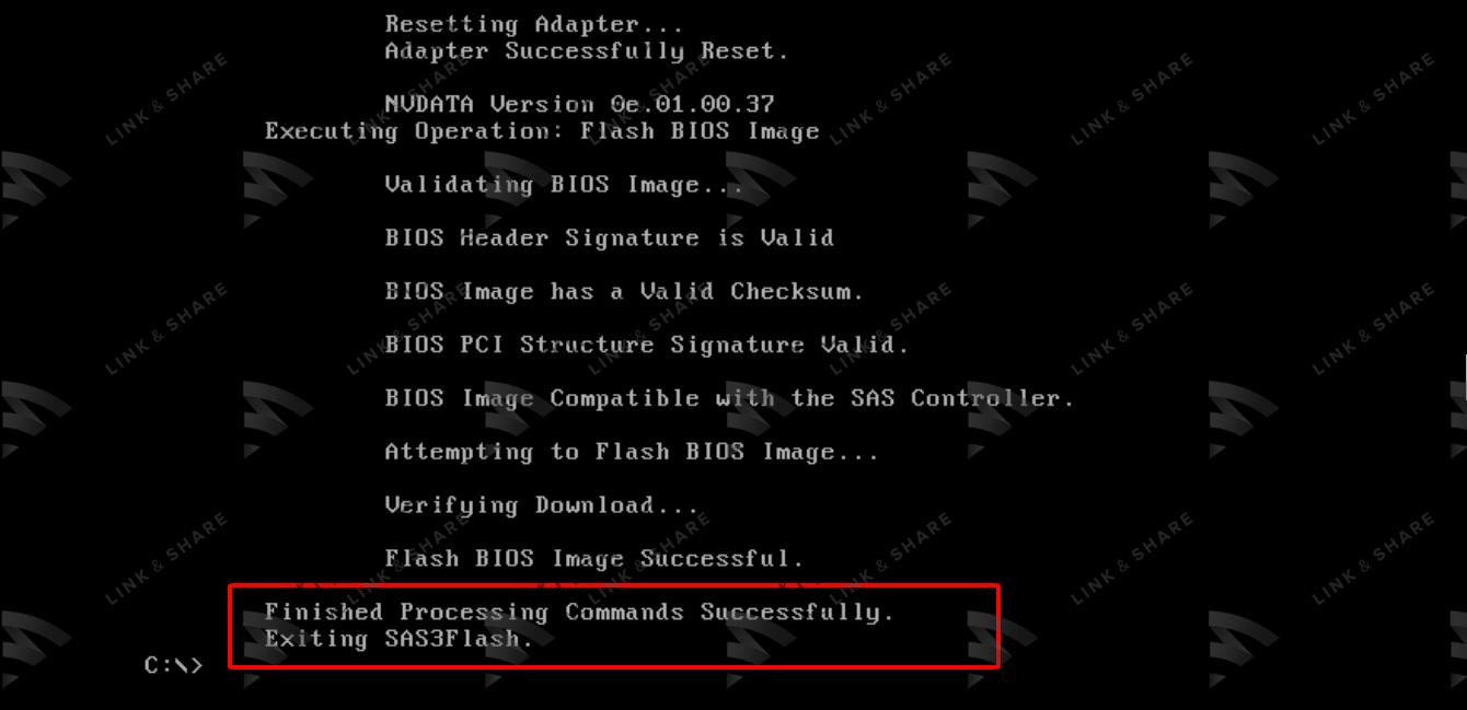 7 - Flash/Crossflash Card Raid DELL H330 Sang HBA330/12Gbps HBA IT Firmware